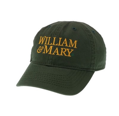 William and Mary Legacy Toddler Adjustable Washed Twill Hat