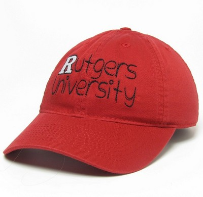 hot sales e60b4 25e8b Rutgers Scarlet Knights Legacy Youth Adjustable Washed Twill Hat   Barnes    Noble at Rutgers