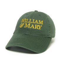 William and Mary Legacy Youth Adjustable Washed Twill Hat