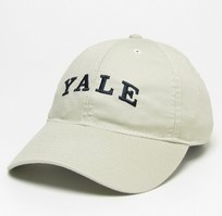 Yale Bulldogs Legacy Youth Adjustable Washed Twill Hat