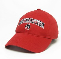 Northeastern Huskies Legacy Youth Adjustable Washed Twill Hat