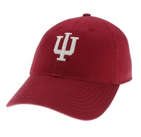 Indiana Hoosiers Legacy Youth Adjustable Washed Twill Hat
