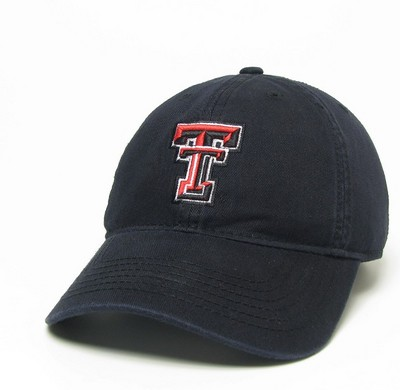Texas Tech Red Raiders Legacy Youth Adjustable Washed Twill