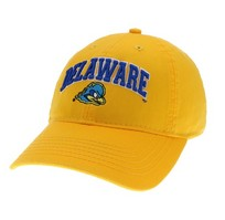 Delaware Blue Hens Legacy Youth Adjustable Washed Twill Hat