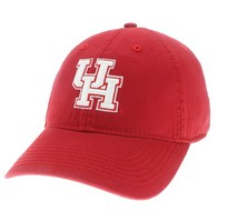 Houston Cougars Legacy Youth Adjustable Washed Twill Hat