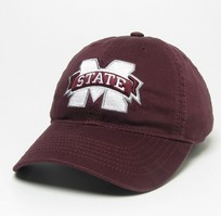 Mississippi State Bulldogs Legacy Youth Adjustable Washed Twill Hat