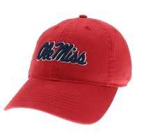 pretty nice 13a39 a5adb Ole Miss Legacy Youth Adjustable Washed Twill Hat