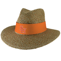 LogoFit Angler Straw Safari Hat