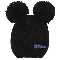 Logofit Leia Double Pom Knit Hat