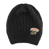 Logofit Honey Knit Bun Beanie