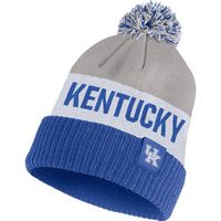 Nike College POM Strip Beanie