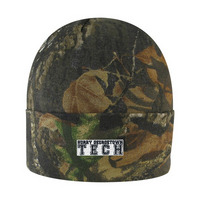 Logo Fit Pine HD Camo Knit Cuff Hat