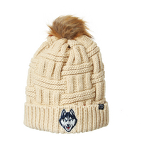 Zephyr Womens Theta Cuffed Pom Knit Hat