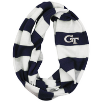LogoFit Cascade Rugby Striped Infinity Scarf