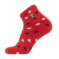 TCK Cozy Polka Dot Slipper Sock