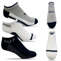 Yale Bulldogs TopSox High Tech Extra Low Cut Crew Sock
