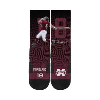 Mitch Moreland CoBranded MLB Socks