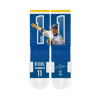 Chad Kuhl CoBranded MLB Socks