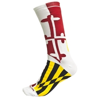 University Of Maryland Flag Socks