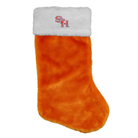 LogoFit Blitzen Holiday Stocking