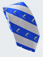 Global Neckwear Striped Silk Tie