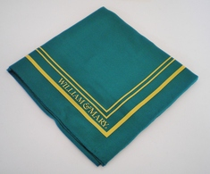 William and Mary Global Neckwear Silk Scarf