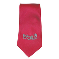 Woven Poly Solid Tie