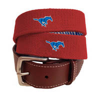 Peter Millar SMU Canvas Belt
