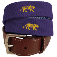 Peter Millar LSU Canvas Belt
