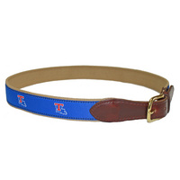 Mens Canvas Ribbon Belt