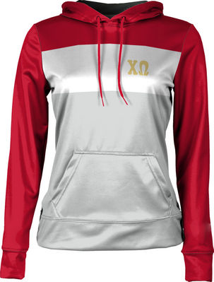 Chi Omega Womens Pullover Hoodie Prime