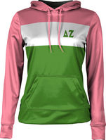 Delta Zeta Womens Pullover Hoodie Prime (Online Only)
