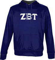 Zeta Beta Tau Unisex Pullover Hoodie Heather (Online Only)