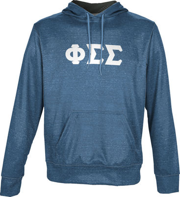 Phi Sigma Sigma Unisex Pullover Hoodie Heather