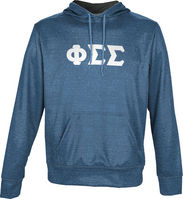 Phi Sigma Sigma Unisex Pullover Hoodie Heather (Online Only)