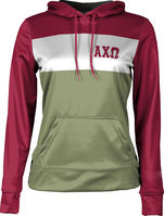 Alpha Chi Omega Womens Pullover Hoodie Heather