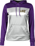 Delta Phi Epsilon Womens Pullover Hoodie Heather