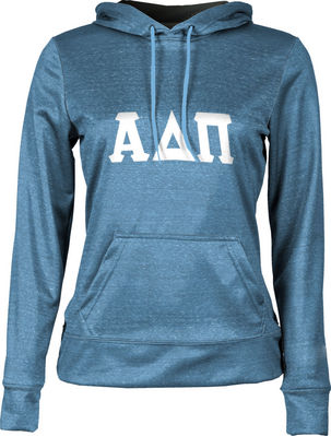 Alpha Delta Pi Womens Pullover Hoodie Heather