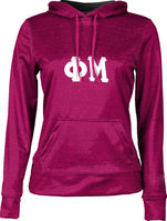 Phi Mu Womens Pullover Hoodie Heather (Online Only)