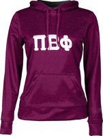 Pi Beta Phi Womens Pullover Hoodie Heather (Online Only)