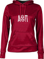 Alpha Omicron Pi Womens Pullover Hoodie Heather (Online Only)