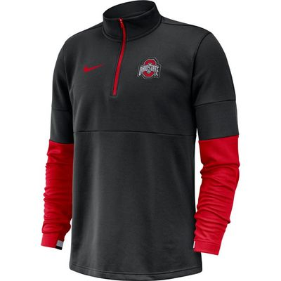 Nike Therma Half Zip Long Sleeve Top