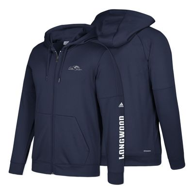 Adidas Mens Team Issue Fleece Full Zip Hood