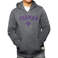 Retro Brand Heather Fleece Hoodie