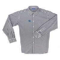 The Collection at Kentucky Boss Gingham Long Sleeve Sport Shirt