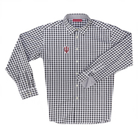All For You Indiana Boss Gingham Long Sleeve Sport Shirt