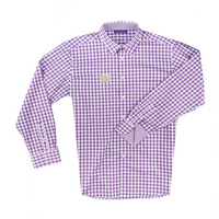 Boss Gingham Button Up Shirt