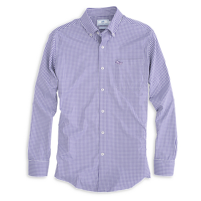 Southern Tie Gameday Gingham Sport Shirt