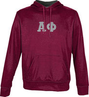 Alpha Phi Unisex Pullover Hoodie Heather (Online Only)