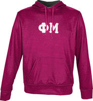 Phi Mu Unisex Pullover Hoodie Heather (Online Only)